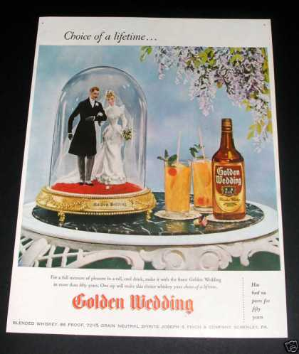 Golden Wedding Whiskey (1946)