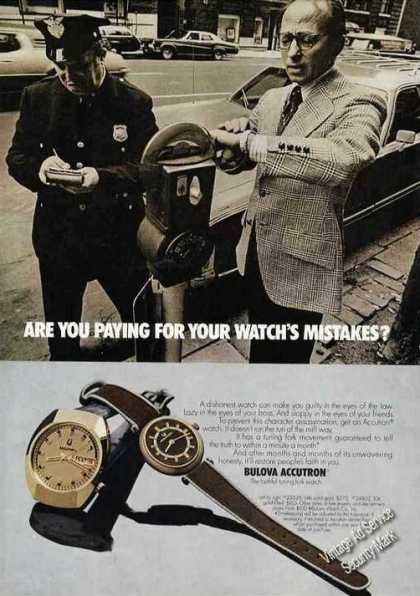 "Bulova Accutron ""Faithful Tuning Fork Watch"" (1973)"