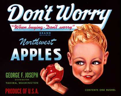 Don't Worry Apples, c. s (1940)