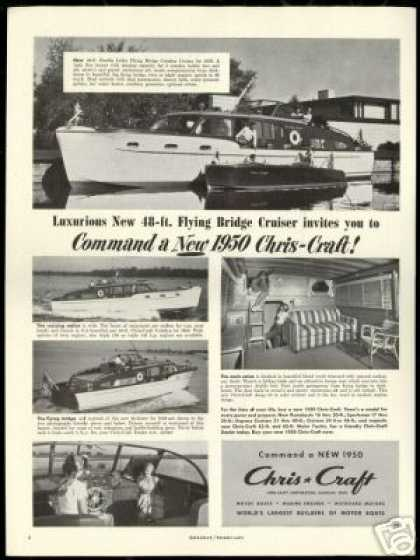 Chris Craft 48 ft Boat 5 photo Vintage (1950)