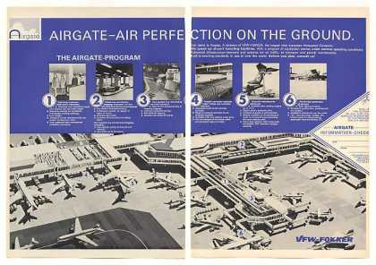 VFW Fokker Airgate Airport Facilities 2-Page (1971)