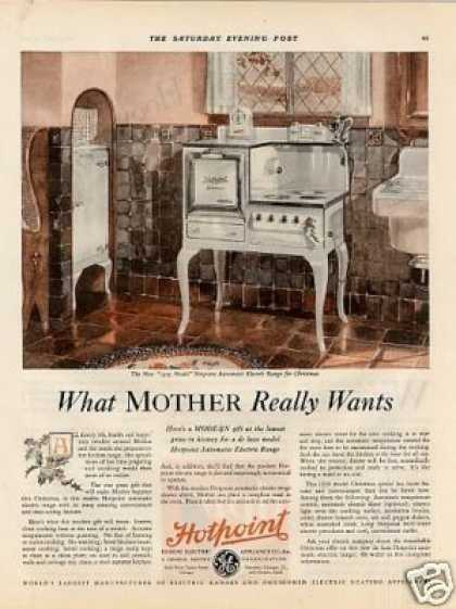 Hotpoint Electric Range Color (1929)
