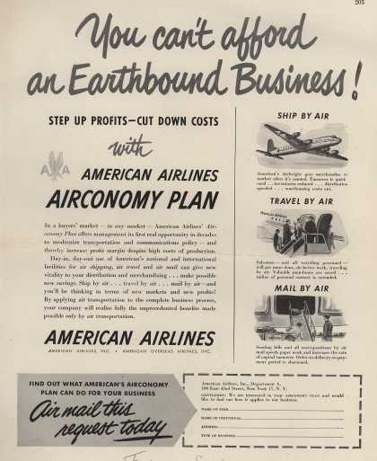 American Airlines – You Can't Afford an Earthbound Business (1948)