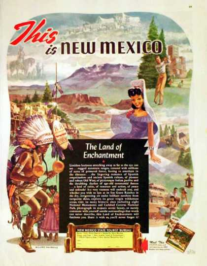 New Mexico Tourist Bureau (1949)