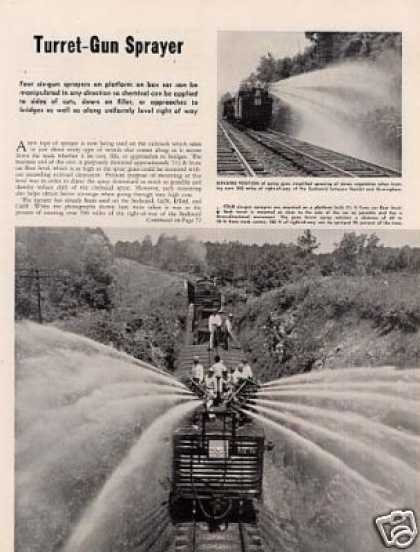 """Turret-gun Sprayer"" Article (1950)"