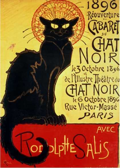 Reopening of the Chat Noir Cabaret (1896)