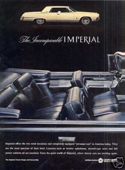 Chrysler Imperial Car (1964)