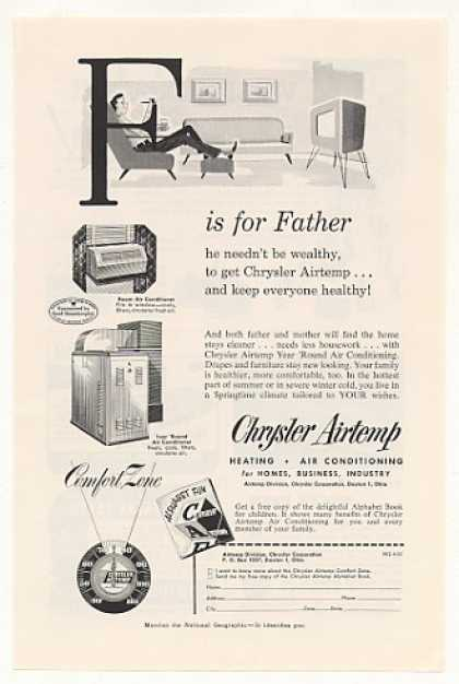 Chrysler Airtemp Air Conditioning F for Father (1953)