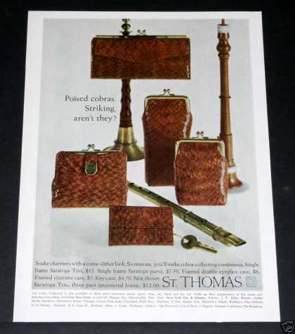 Old , St. Thomas, Cobra Purse (1964)