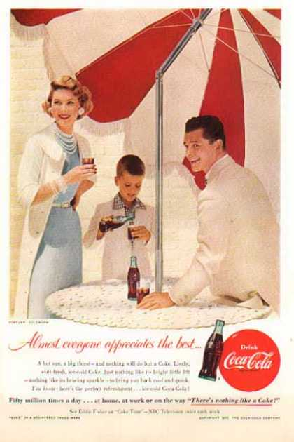 Coke &#8211; Appreciate the best &#8211; Costume by Goldworm (1955)