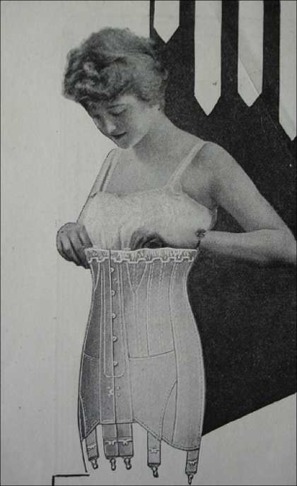 Share your vintage 1910 corsets