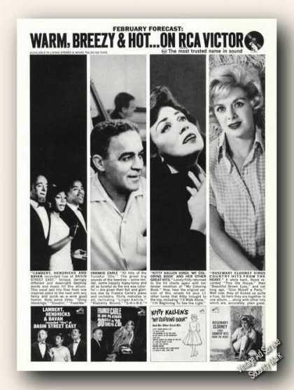 Kitty Kallen/rosemary Clooney/other Photos (1963)