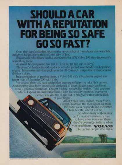 Volvo 240 – Car – Car with a reputation (1976)