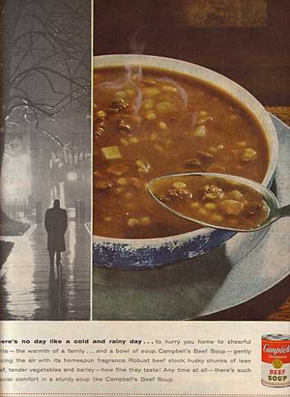 Campbell's Beef Soup (1956)