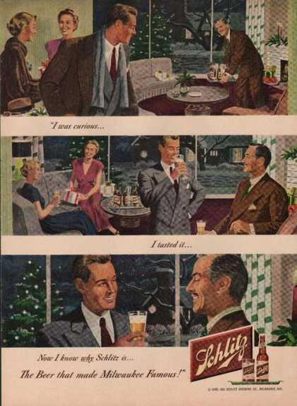 Beer That Made Milwaukee Famous Schlitz (1949)
