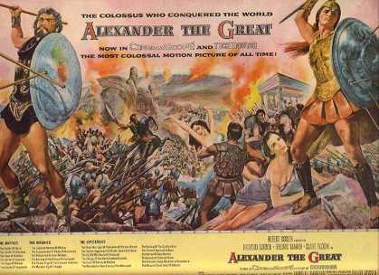 "Alexander The Great (""The most Colossal Motion Picture of All Time"") (1956)"
