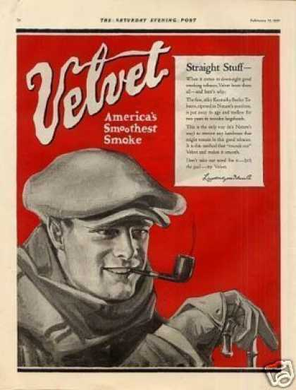 Velvet Tobacco Color (1921)