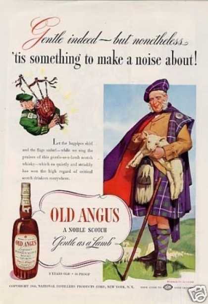 Old Angus Scotch Whisky (1940)