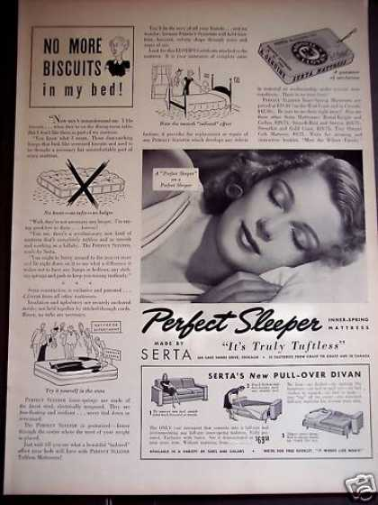Serta Mattress the Perfect Sleeper (1939)