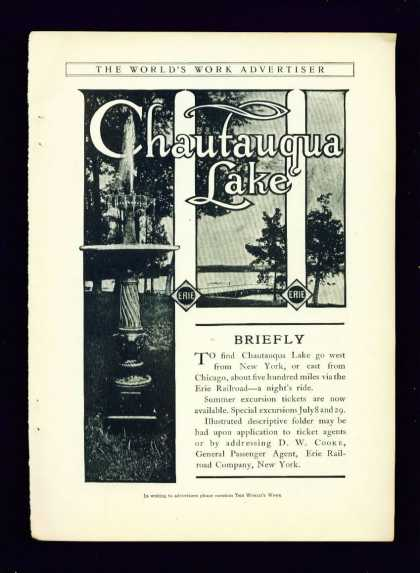 Chautauqua Lake On the Erie Railroad (1904)