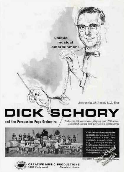 Dick Schory & the Percussion Pops Orchestra (1963)