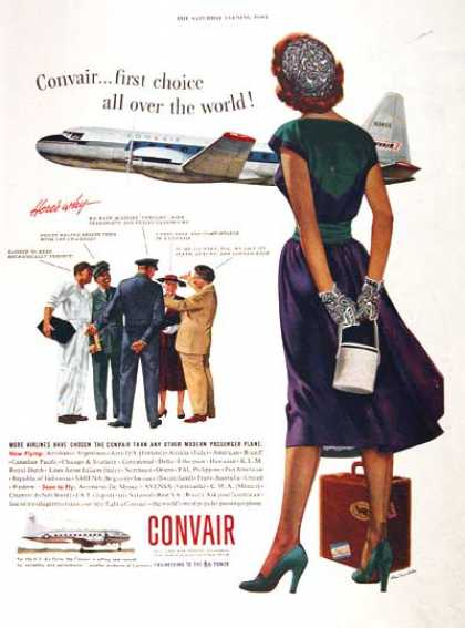 Convair Airplanes #1 (1953)