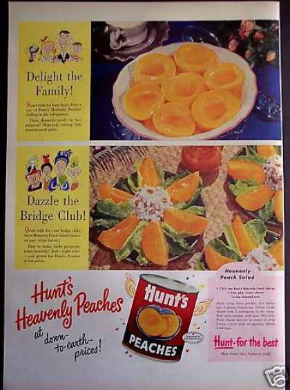 Original Hunt's Heavenly Peaches (1952)