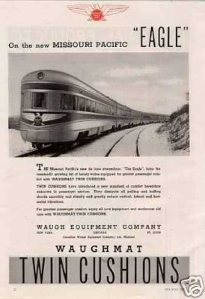 "Waugh Ad Missouri Pacific ""Eagle"" (1940)"