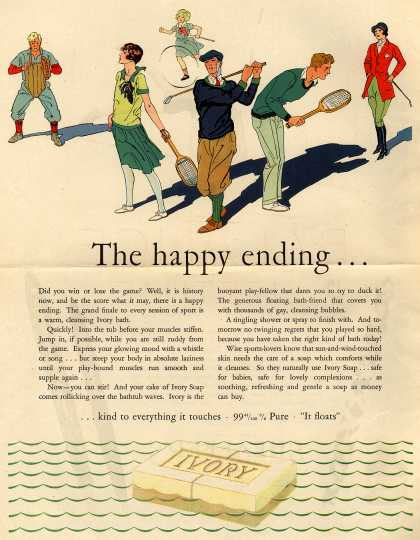Procter & Gamble Co.'s Ivory Soap – The Happy ending... (1929)