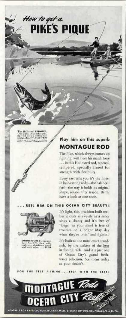 Montague Rods/ocean City Reels Fishing (1947)