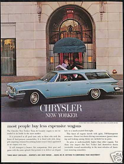 Chrysler New Yorker Town & Country Wagon (1962)
