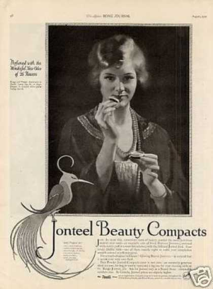 Jonteel Beauty Compacts (1921)