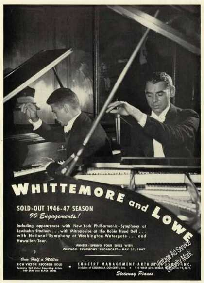 Arthur Whittemore & Jack Lowe Photo Duo Piano (1947)