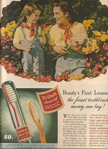 Dr. West's Toothbrushes (1944)