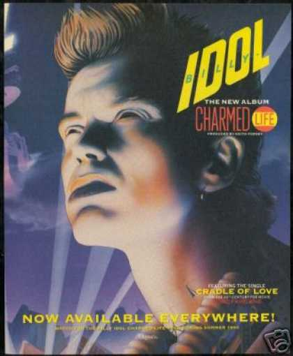 Billy Idol Charmed Life Record Promo (1990)