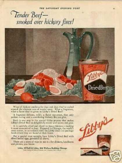 Libby's Dried Beef Color (1920)