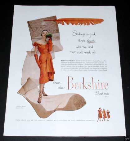Berkshire Sheer Stockings (1950)
