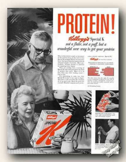 Kellogg's Special K New Way To Get Your Protein (1959)
