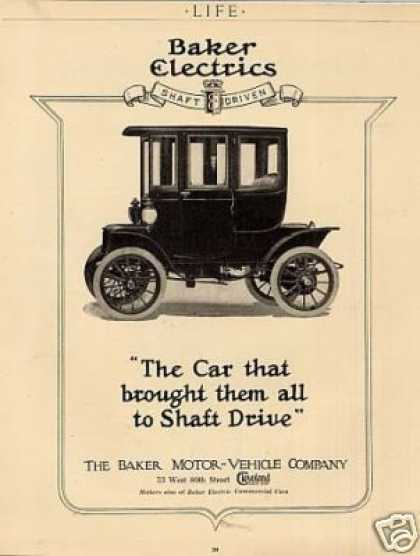Baker Electric Car (1912)