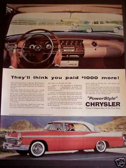 Chrysler Windsor Automobile Classic Car (1956)