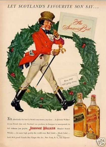 Johnnie Walker Scotch Whisky (1951)