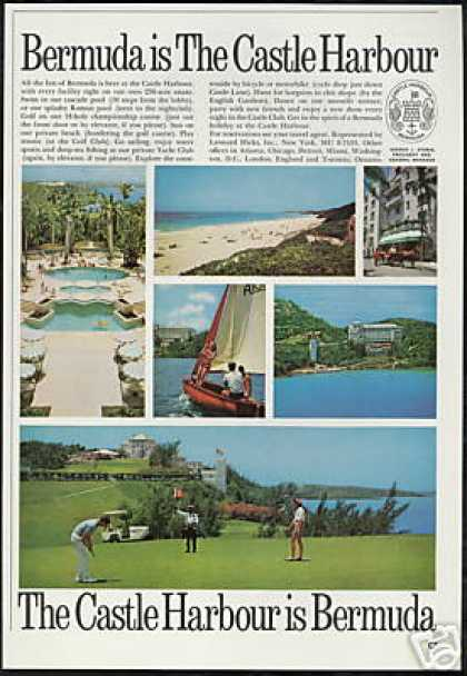Bermuda Castle Harbour Resort Hotel Photo (1966)