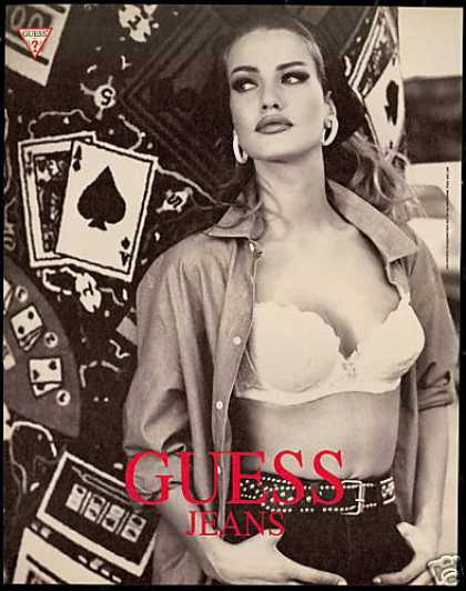 Guess Jeans Fashion Bra Pretty Woman (1991)