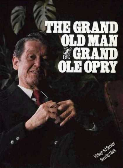 Roy Acuff Photo Magazine Feature (1984)