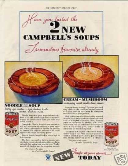 Campbell's Soups (1934)