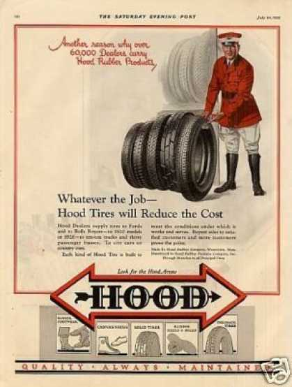 Hood Tires Color (1926)