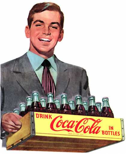 When there's Coke in the house, there's Hospitality at home 			Coca-Cola (1949)