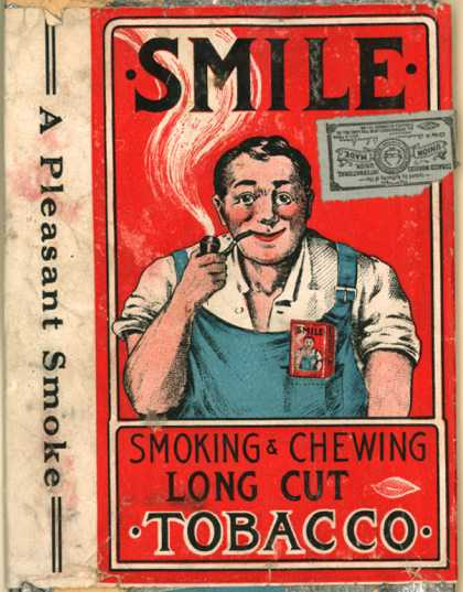 Samuel B. Wechsler's Smoking & Chewing Long Cut Tobacco – Smile