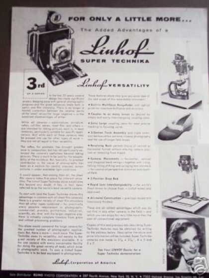 Linhof Super Technika Camera Original (1956)