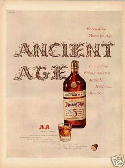 Ancient Age Whiskey (1947)